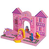 """Набор плавающих блоков для ванной """"Замок Принцессы"""" для детей от 3 лет ТМ Just Think Toys Микс 22086"""