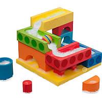 """Набор плавающих блоков для ванной """"Бегущий мяч и Водопад"""" для детей от 3 лет ТМ Just Think Toys Микс 22067"""