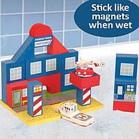 """Набор плавающих блоков для ванной """"Береговая Охрана"""" для детей от 3 лет ТМ Just Think Toys Микс 22087"""