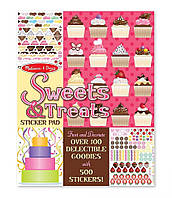 "Набор стикеров ""Мои сладости"" (Sweets & Treats Sticker Pad) ТМ Melissa & Doug MD4239"