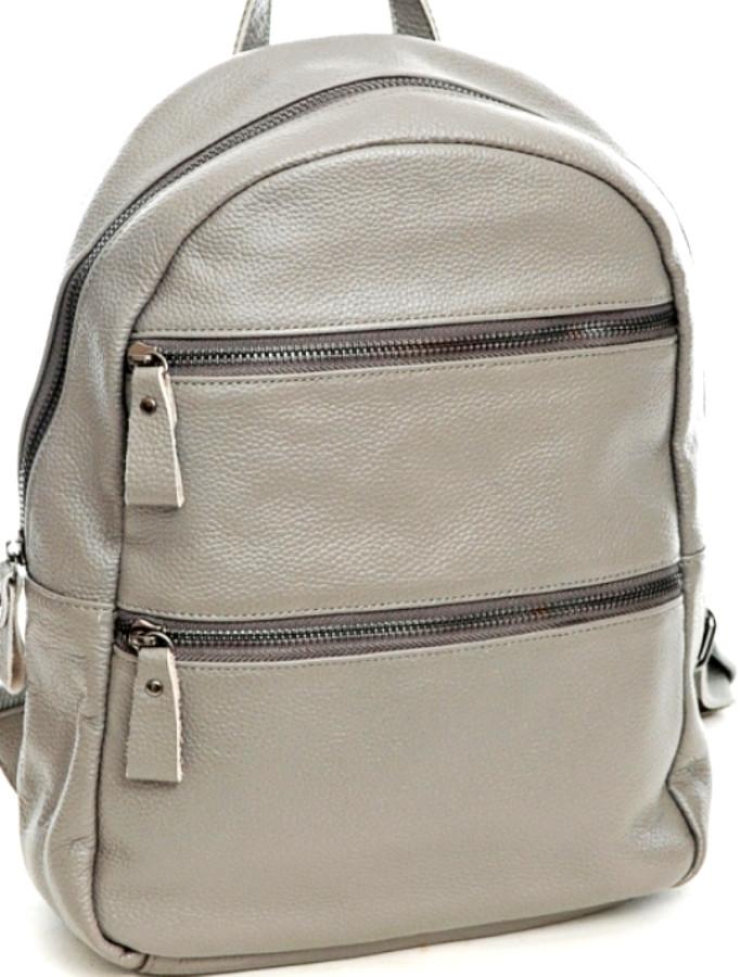 Молодёжный  рюкзак из натуральной кожи