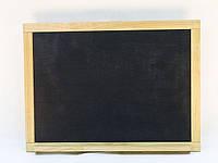 Настенная деревянная доска для рисования мелом (75х55 см)