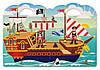"""Об'ємні багаторазові наклейки """"Пірати"""" (Puffy Sticker Play Set ― Pirate) ТМ Melіssa & Doug MD9102, фото 3"""