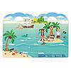 """Об'ємні багаторазові наклейки """"Пірати"""" (Puffy Sticker Play Set ― Pirate) ТМ Melіssa & Doug MD9102, фото 4"""