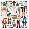 """Об'ємні багаторазові наклейки """"Пірати"""" (Puffy Sticker Play Set ― Pirate) ТМ Melіssa & Doug MD9102, фото 5"""