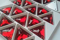 Стразы пришивные Треугольник 16 мм Siam, стекло