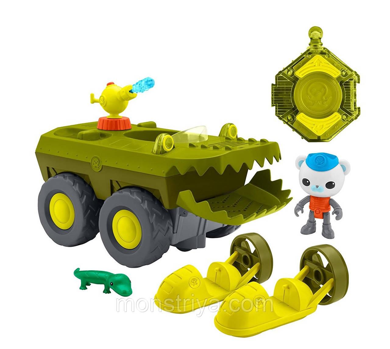 """Игрушки """"Октонавты"""" Машина на дистанционном управлении с капитаном Барнаклсом Fisher-Price Octonauts"""