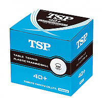 Пластиковые мячи для настольного тенниса TSP Training ball (120 шт.), фото 1