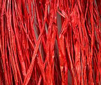 Рафия, 20 г, цвет красный