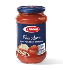 Соус томатный натуральный Barilla Pomodoro с добавлением лука, 400 гр.
