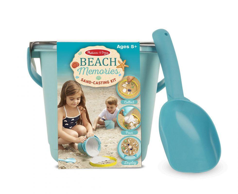 """Пісочно-гіпсовий набір """"Пляжні спогади"""" ( Beach Memories Sand-Casting Kit) ТМ Melіssa & Doug MD8948"""