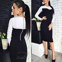 Платье с молнией  ндев199