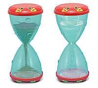 """Песочные/водные часы """"Мистер Краб"""" (Clicker Crab Hourglass Sifter & Funnel) ТМ Melissa & Doug MD6409"""