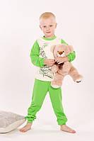 Пижама детская для девочки или мальчика (унисекс) р. 92-122, ТМ Модный карапуз 03-00540-0