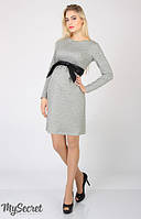 Платье для беременных и кормления Orbi ТМ Юла Мама Серый DR-46.122