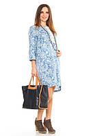 Платье для беременных и кормления Джинсовые чары р. 48-52 ТМ NowaTy 16020107