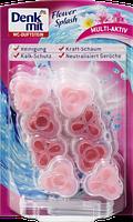 Denkmit блок для чистки унитаза WC-Duftstein Flower Splash - Цветочная свежесть (2шт.)
