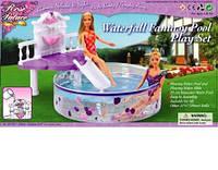 """Мебель для куклы с бассейном """"Gloria"""" 2678"""