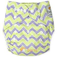 Подгузник многоразовый c вкладышем для новорожденного 3-15 кг ТМ Berni Разноцветный 5643