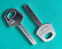 Заготовка ключа PTL-101S  (фин сталь)  Bronsta