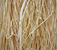 Рафия, 60 г, цвет натуральный осветленный