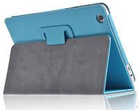 Кожаный чехол-книжка TTX с функцией подставки для Lenovo Tab 2 A7-30 (Голубой)