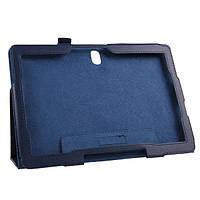 Кожаный чехол-книжка TTX с функцией подставки для Samsung Galaxy Note 10.1 (2014) (Синий)