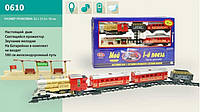 Железная дорога детская Мой первый поезд длина путей 580 см Joy Tоy 0610