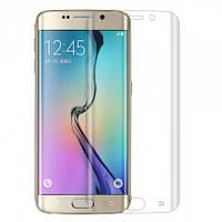 Закаленное защитное 3D стекло (на весь экран) для Samsung G925F Galaxy S6 Edge Plus (Прозрачное)