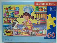 Пазлы Castorland   60шт (06885) 32*23 см Маленький повар