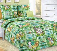 Подростковое постельное белье Затейники, бязь ГОСТ 100%хлопок - полуторный комплект