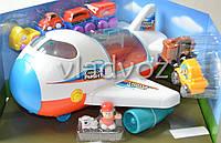 Интерактивный детский игрушечный самолет Keenway Cargo Flight игрушка музыкальные эффекты