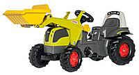 Rolly toys Трактор педальный с ковшом KID CLAAS Elios оливковый