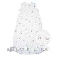 Спальник для новорожденного (муслин) 0-6 мес., 6-18 мес. (Конверт для сна, спальный мешок) ТМ PERLIM PINPIN MS606