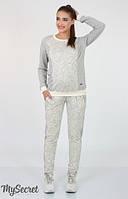 Спортивные брюки-джоггеры для беременных Davi light р. 44-50 ТМ Юла Мама Серый SP-37.051
