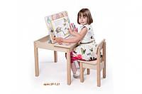 Стол-парта для детей от 1 до 6 лет (60*60*52 cм) ТМ Вальтер-С SP1.31