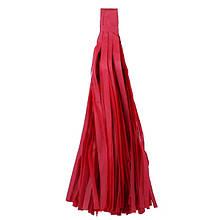 Кисть тассел красная 35 см длина (собрана)