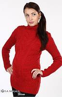 Теплый свитер Amber для беременных р. 44-48 ТМ Юла Мама