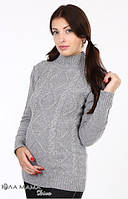 Теплый свитер Milada для беременных р. 46-48 ТМ Юла Мама