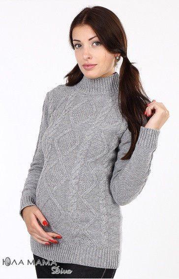 Теплый свитер Milada для беременных р. 46-48 ТМ Юла Мама, цена 719 ... e7639044aea