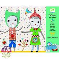 Художественный комплект Коллаж для самых маленьких Малыши DJECO DJ08665