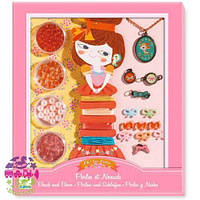 Художественный ювелирный набор Бантики и жемчуг (набор для детского творчества) ТМ DJECO DJ09802