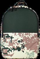 Школьный рюкзак для подростков Upixel Camouflage-Зелено-коричневый ТМ Upixel WY-A021Q