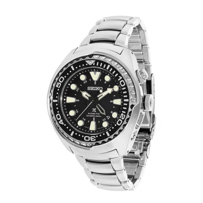 Часы Seiko SUN019P1 Prospex Kinetic Diver's B.