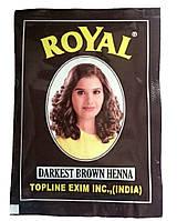 Индийская хна темно-коричневая натуральная краска (пакетик)