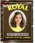 Каштановая черная хна индийская Royal (пакетик)