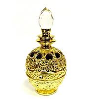 Флакон в арабском стиле золото