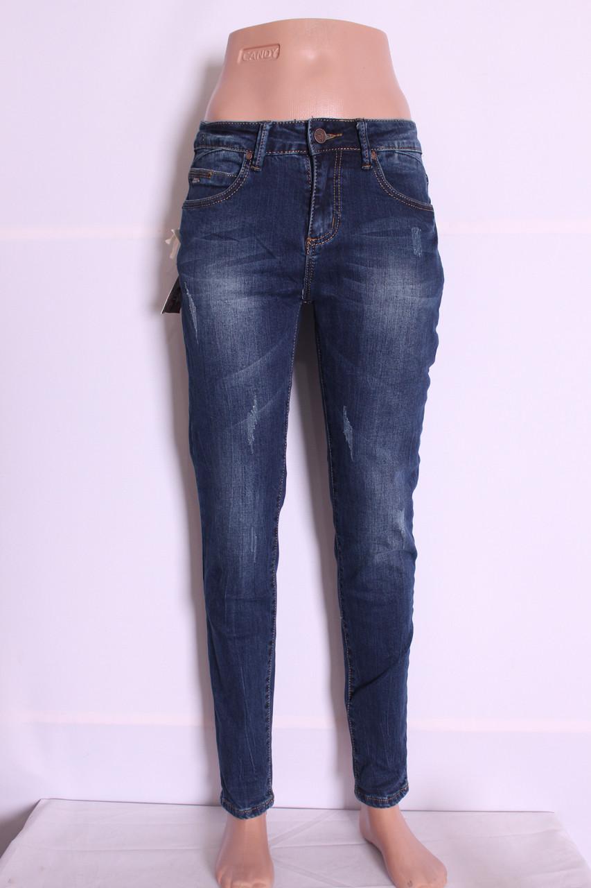 Модные женские джинсы бойфренды Pretty baby( код 6025)