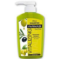 Восстанавливающий шампунь для волос с экстрактом оливы