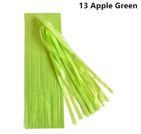 Кисть тассел яблоко 35 см длина (собрана)